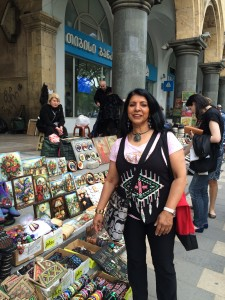 $Sudha at Freedom Sq - Tbilisi